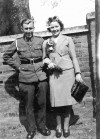 8. ID DIS2009_MAR_065 During the war, serving personnel had to fit marriages around leave and marry when and where they could, so Peter Farthing of Mersea, serving in the Army, ...