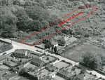 89. ID JBA_580_001 Windsor Road junction with East Road. Windsor Road later became Oakwood Avenue, and from 1971 Oakwood Avenue was continued in stages to the south.