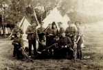 102. ID MPR_SHM_001 World War 1. 2nd Battalion 'The Rifles' (The Prince Consorts Own). Cleaning rifles.