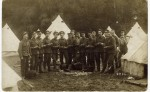 103. ID MPR_SHM_003 2nd Battalion 'The Rifles' (The Prince Consorts Own). Fred peeling potatoes.
