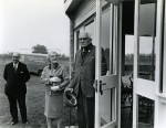 59. ID RG03_499 Arthur Cock - opening the new pavilion on the Glebe. 