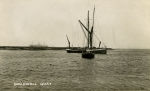 Barge BLACKWATER at Bradwell, 1935 or earlier.