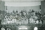 Birch School. A concert in the Village Hall in the early 1950s. More details needed!  ELB_SCH_171