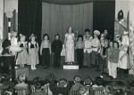 33. ID ELB_SCH_185 Birch School. Wedding of the Painted Doll produced in the Village Hall, c1955.