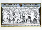 11. ID COF_1912 Colchester Oyster Feast. 1912. Reginald B. Beard.