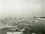 104. ID PMS_WIN_021 Frozen sea at Mersea, January 1940. Photo by Howard Winch, who wrote on back: