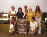 9. ID WLD_FEN_117 East Mersea Fete. Tug of War. Winners Ladies Team. Fen Farm Fairies.
