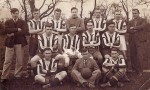 11. ID ACN_009 West Mersea Football Team. Tiddler Mole and Bernard (Nig) French - coaches. 