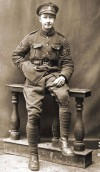 Sergeant F.G. Unwin, No. 72274 134 Field Ambulance, Royal Army Medical Corps. Bunny served in France 1916 - 1918 and was awarded the Military Medal for Gallantry.