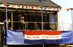 1. ID RNLI_TS5_011 Frank Reed speaking when the Duke of Kent opened the new West Mersea Lifeboat house. Frank is Honorary Secretary of Mersea RNLI. The Duke is President of the ...