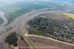Packing Marsh Island, Cobmarsh Island and West Mersea, looking north.