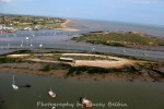 Packing Shed and Packing Marsh Island, with Cobmarsh Island beyond. View southeast.