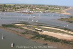 Packing Shed and Packing Marsh Island. Coast Road, the Victory and houseboats.