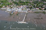 Coast Road and the Hard. Hammerhead in centre. West Mersea Yacht Club on right.
