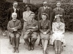 8. ID RUD_BK5_001 Wedding of Miss Winifred Edge, A.T.S., of Hanmer, Shropshire to Eric Archibald French, Corporal, RAF, at the Methodist Church 10 August 1943.
