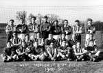 25. ID FL01_059_001 West Mersea 1st and 2nd Eleven Football Team 1949 - 1950.
