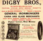 Digby Bros. General Ironmongers.