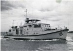 2. ID BF69_011_010 Aldous Successors Limited, Brightlingsea. Twin Screw Survey Vessel PENELOPE for Nigerian Navy. Yard No. 931, launched 30 Sept 1958. Rivetted construction, she ...