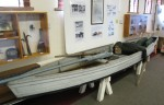 22. ID IA003400 Gun punt built by William Wyatt at West Mersea in 1919. It has its original gun and was used for wildfowling in Mersea for many years, owned by Charlie Stoker ...