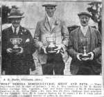 West Mersea Horticultural Show and Fete.