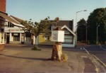 27. ID IA1_LUC_574 The Rotunda, erected on the tree stump outside the Post Office. Spring 1981.