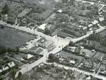 68. ID JBA_406 Jack Botham aerial photograph 3119. Griffon Garage and Digby's corner. High Street bottom left to middle right.