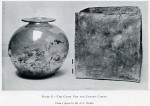 Opening of Romano-British Barrow opposite page 130.