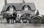 Dog and Pheasant, East Mersea - a Cleghorn postcard.