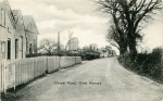 Chapel Road, later Mill Road, West Mersea. Another copy of this card was mailed 19 October 1904 Before October 1904. Photo: Hardy Weaver Collection