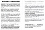 A short history of West Mersea Church - pages 2 and 3.  IA003962