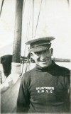 21. ID PBIB_APP_042 Ernest Appleton on board SAUNTERER, Royal Northumberland Yacht Club.